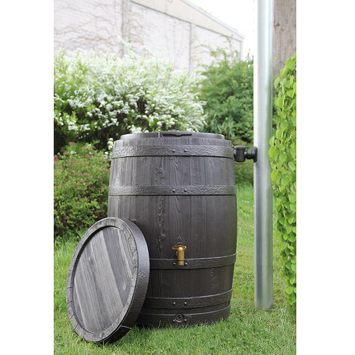 [Bauhaus TPG, Bundesweit] 4rain Regenspeicher Vino 250L  | Regentonne im Weinfass-Design