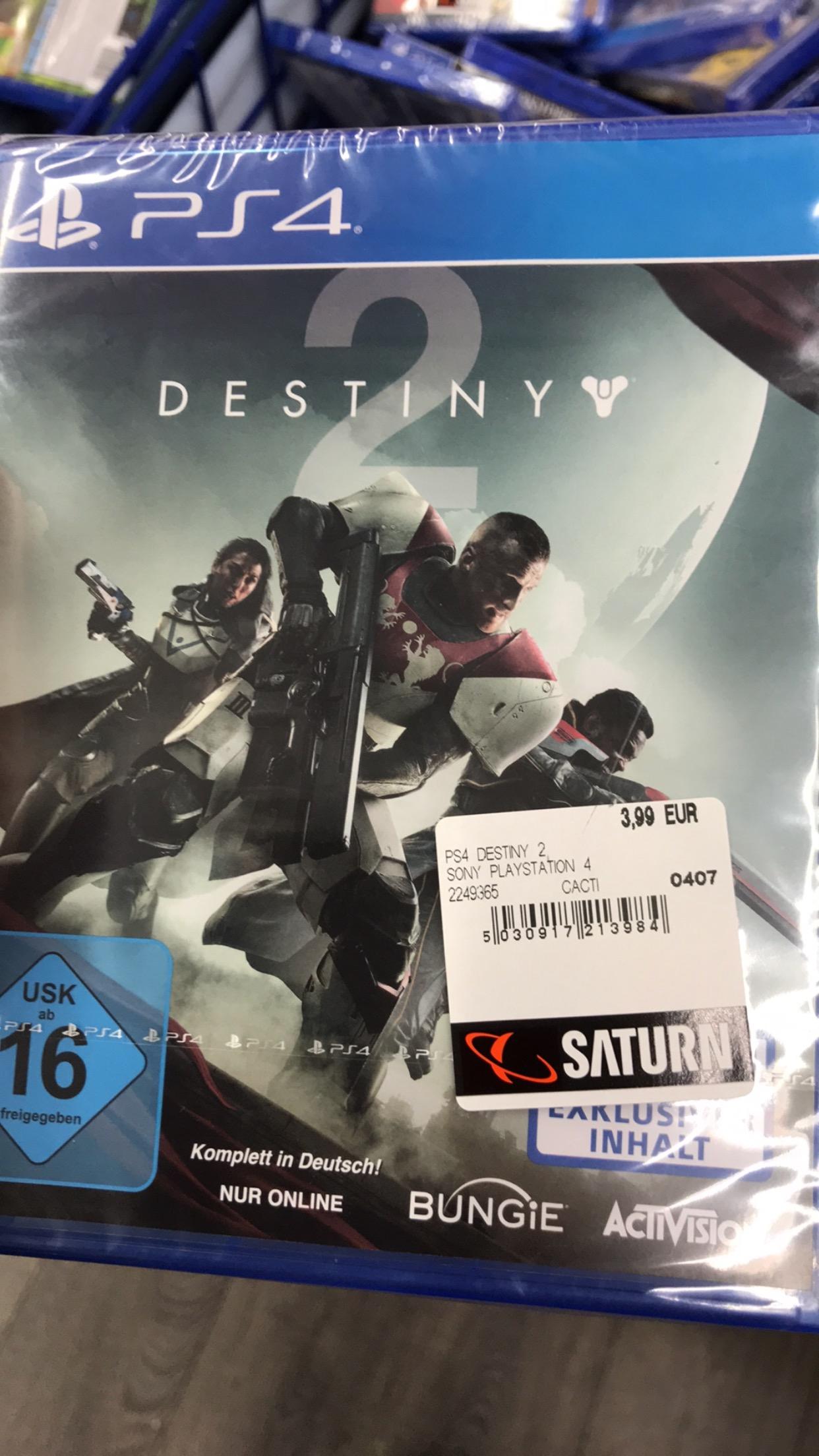 LOKAL Berlin: Destiny 2 (PS4) für 3,99€