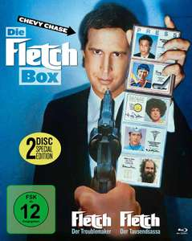 Die Fletch Box - Fletch 1+2 Collector's Edition (Blu-ray) für 6,39€ (Müller)