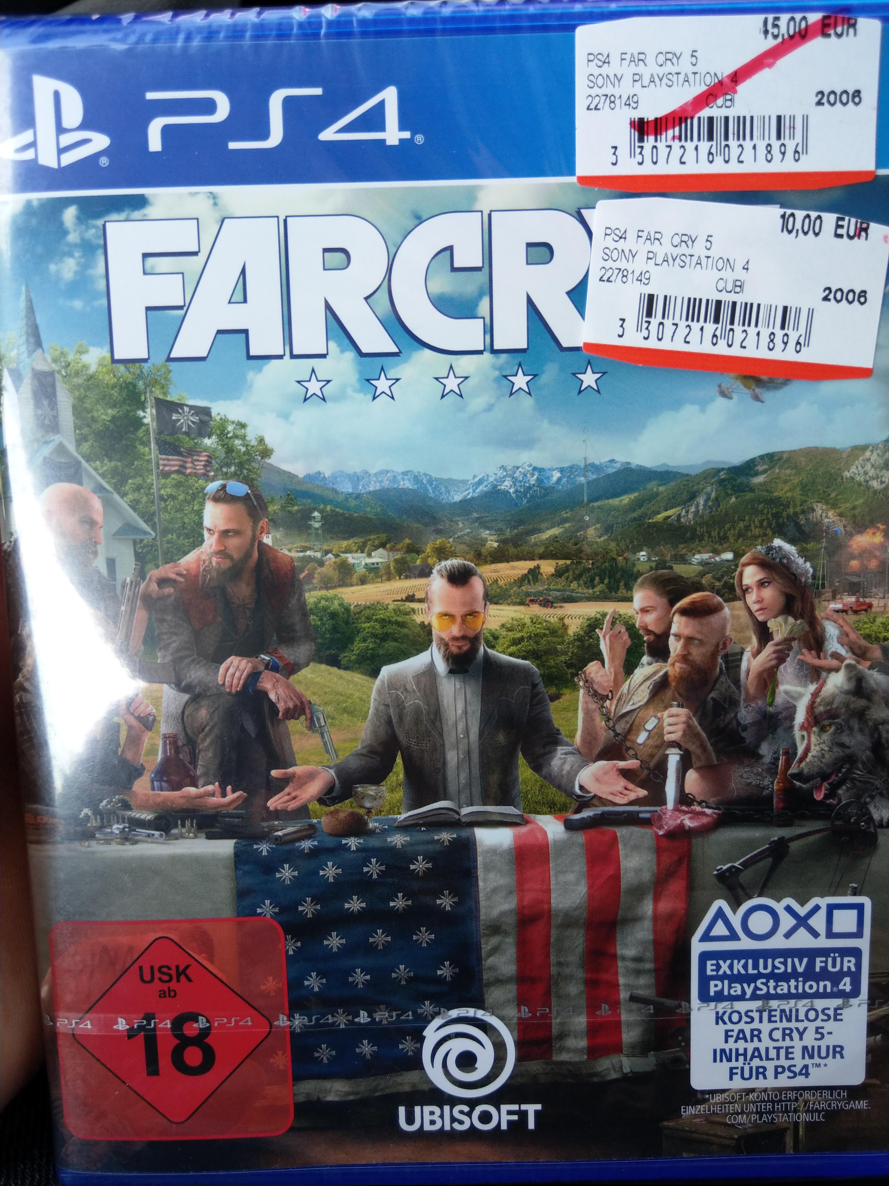 (lokal) Mediamarkt Düsseldorf Metrostr. Far Cry 5 für PS4 für 10€