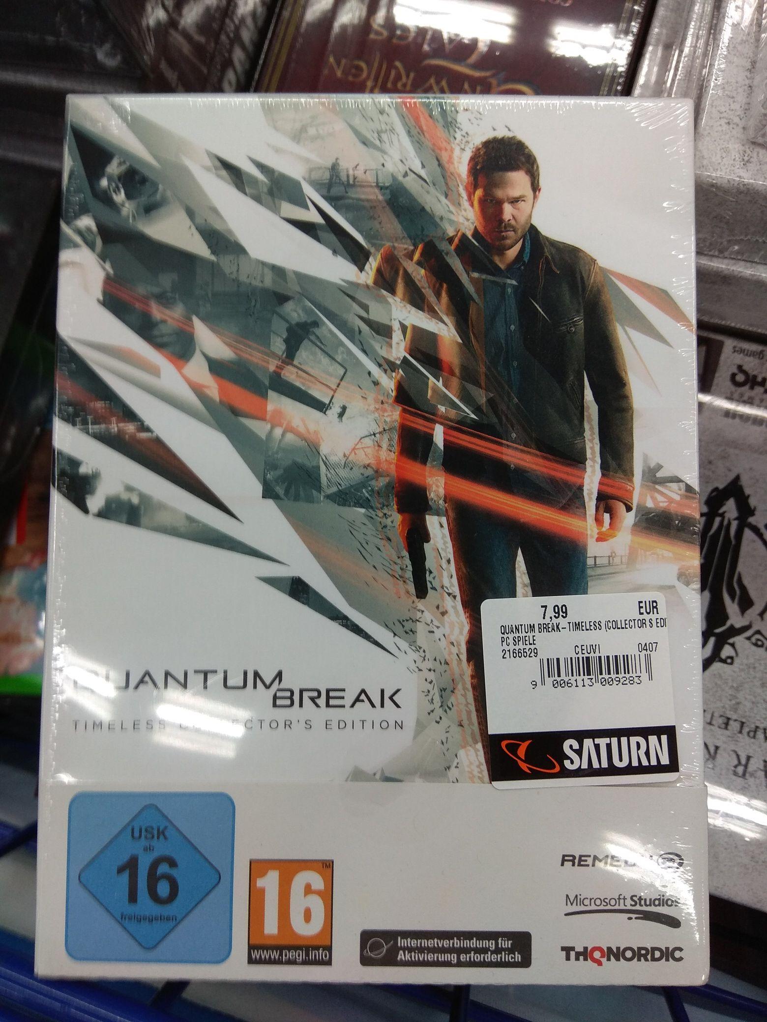 [Lokal Berlin] Quantum Break (PC) - Timeless Collector's Edition - Saturn am Alex