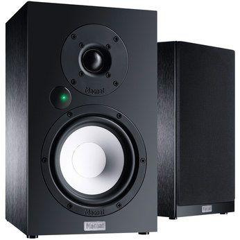 Magnat Multi Monitor 220 /Paar Regallautsprecher schwarz