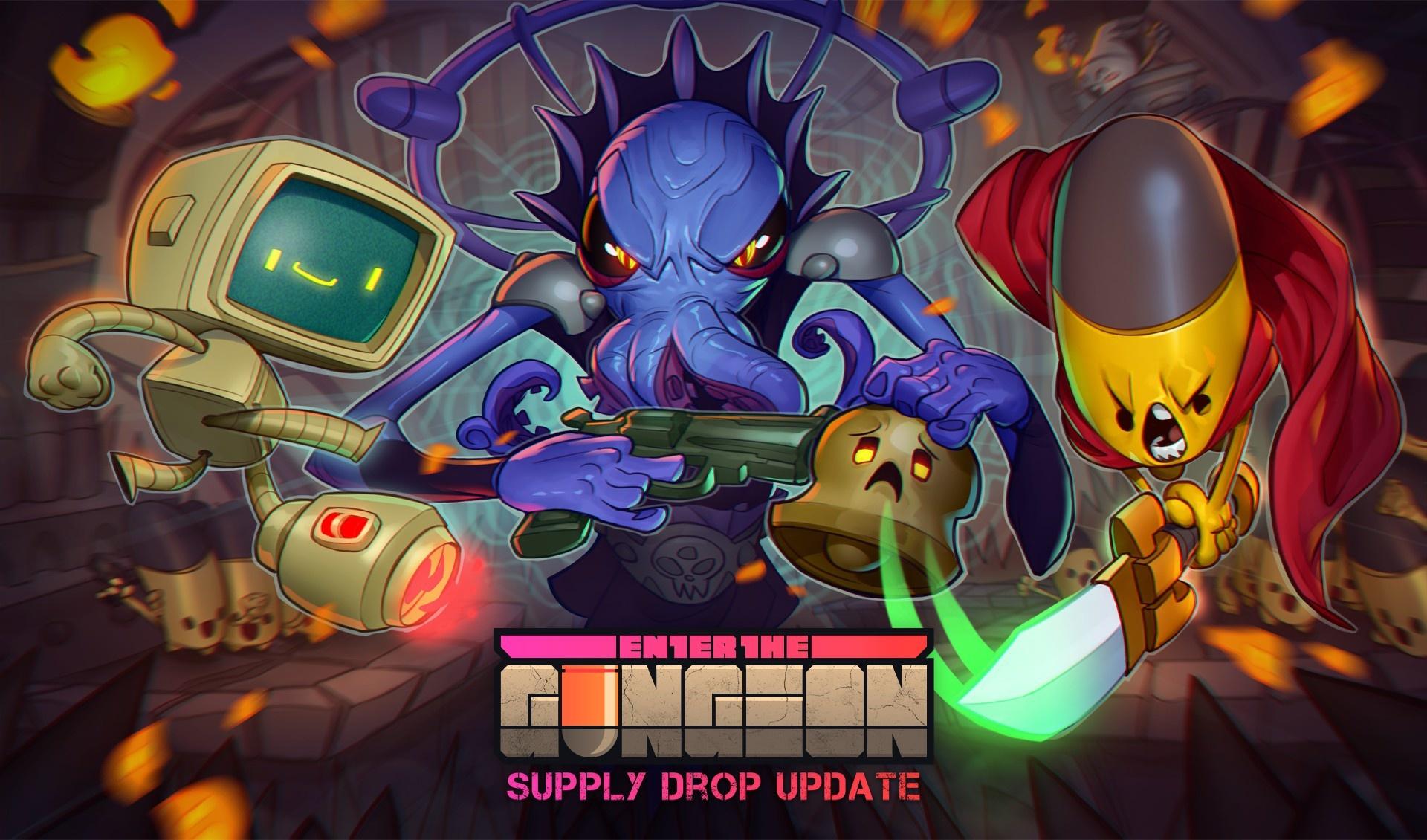 Enter the Gungeon Erweiterung für alle Besitzer des Spiels