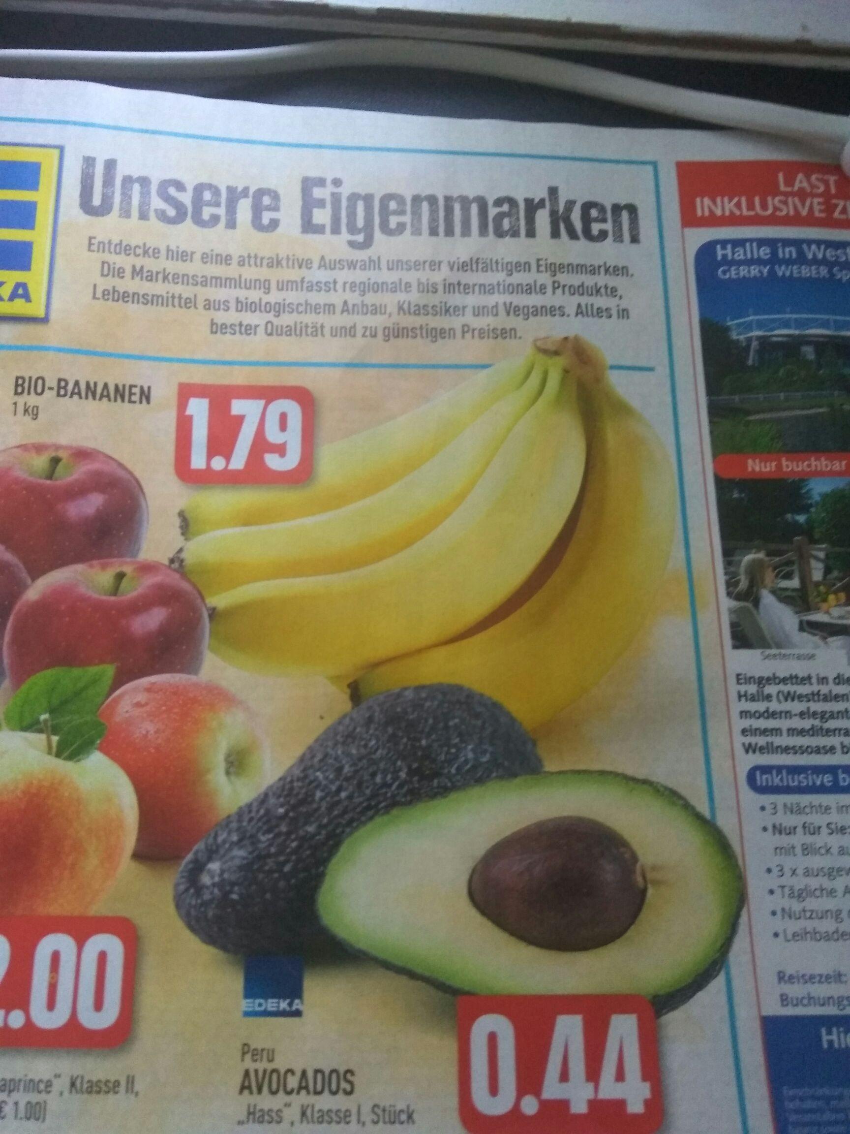 "(Lokal? EDEKA Rhein Ruhr) Avocado ""Hass"" 44 Cent/Stück"
