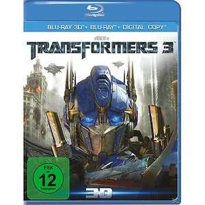 Transformers 3 3D (+2D) [Blu-ray]