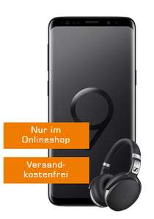 (SATURN) SAMSUNG Galaxy S9+ Dual-SIM & Sennheiser HD 4 mit VF Comfort Allnet