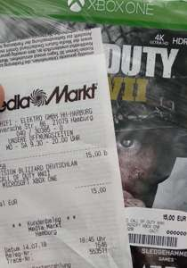 Call of Duty WW2 Xbox One / Media Markt Harburg