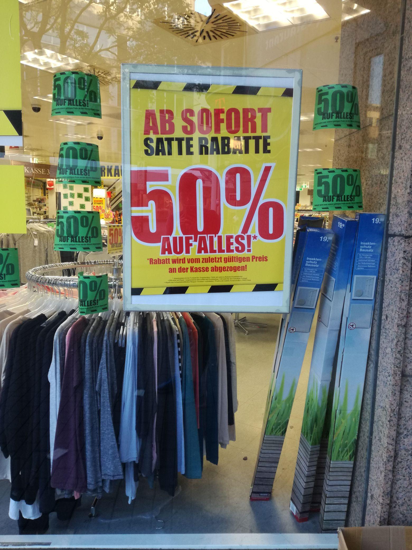 [Lokal Hamm] Woolworth 50% auf alles!