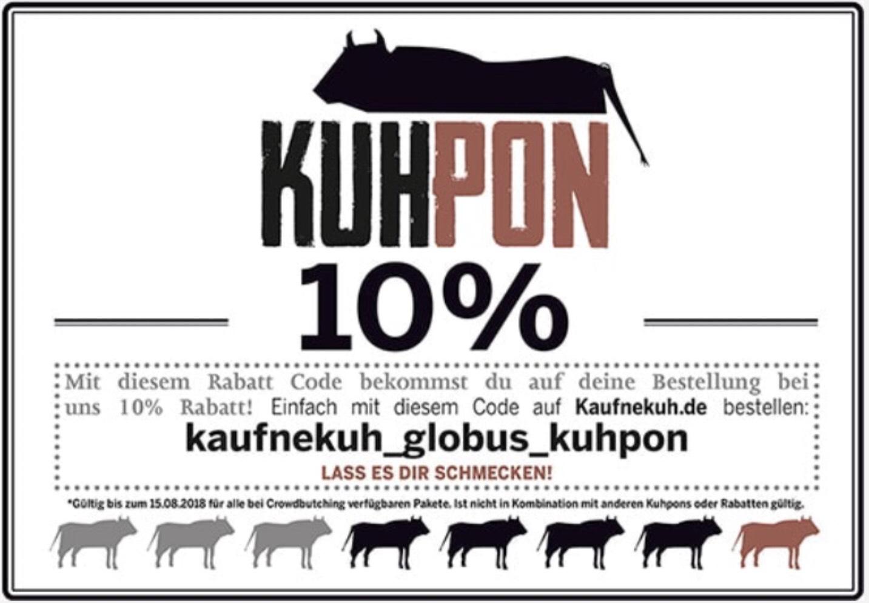 Kaufnekuh.de Gutschein 10% - Fleisch Lieferung [auch Bio Rind verfügbar]
