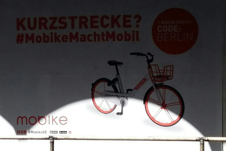 (Lokal Berlin) 1 Woche gratis Mobike leihen