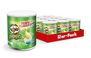 [ amazon.de Sparabo 5% ] Pringles Original & Sour Cream 12x 40g Tray für 5,59€