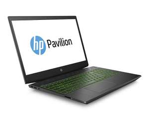 [Amazon] HP Pavilion 15-cx0203ng (15,6 Zoll FHD) Gaming Notebook (Intel Core i5-8300H, 8GB RAM, 1TB HDD, 16GB Intel Optane,Nvidia GeForce GTX 1050 2GB, Windows 10 Home x64) Schwarz/Grün
