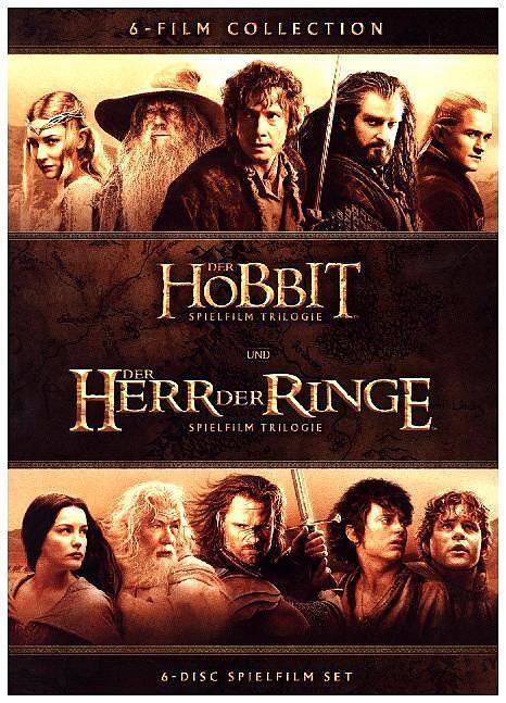 iTunes - Mittelerde Collection (Herr der Ringe Trilogie + Der Hobbit Trilogie) HD