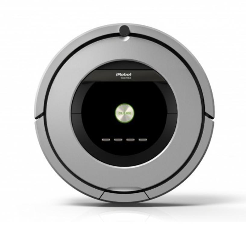 [iRobot-Shop] Staubsauger iRobot Roomba 886 Saugroboter ohne Beutel, inkl. Ladestation, Neu
