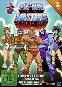 He-Man and the Masters of the Universe - Komplette Serie (14 Disc Set DVD) für 36,99€ (Amazon)