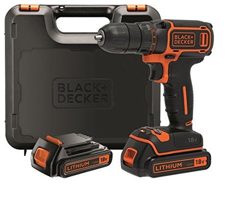 Black & Decker BDCDC18KB-QW 18v 1,5h x 2 [Amazon.es] 2 Akkuschrauber zum Bestpreis