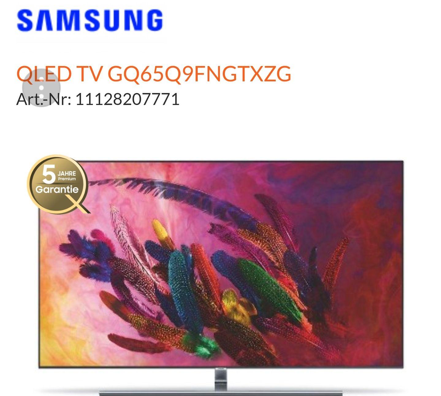 GQ65Q9FN Samsung TV 65 Zoll