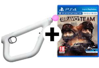 Bravo Team (PS4-VR) & That's You! Voucher inkl. Aim Controller Bundle für 55€ (Media Markt AT)