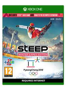 Steep: Winter Games Edition (Steep + Road to the Olympics) (Xbox One & PS4) für je 18,44€ (Base.com)