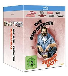 Die Bud Spencer Jumbo Box (Blu-ray) für 34,97€ (Amazon Blitzangebot)