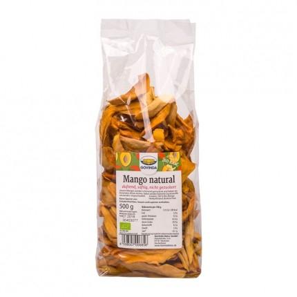2,5 kg Vorrat getrocknete Mangos von Govinda in Rohstkost- und Bio-Qualität