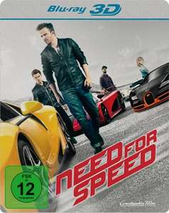 Need for Speed Limited Edition Steelbook 3D (3D Blu-ray) für 9,76€ (Media-Dealer)