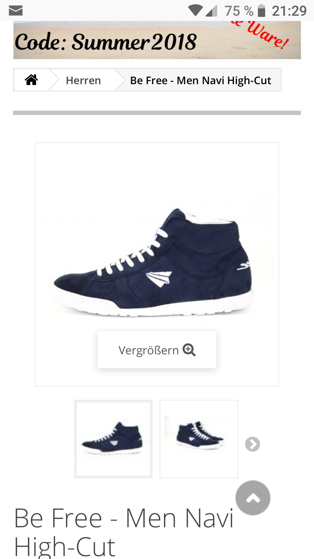 (online anifree-shoes.de) Coole vegane Schuhe wie z.B Sneakers (mit toller Auswahl auch für Männer)