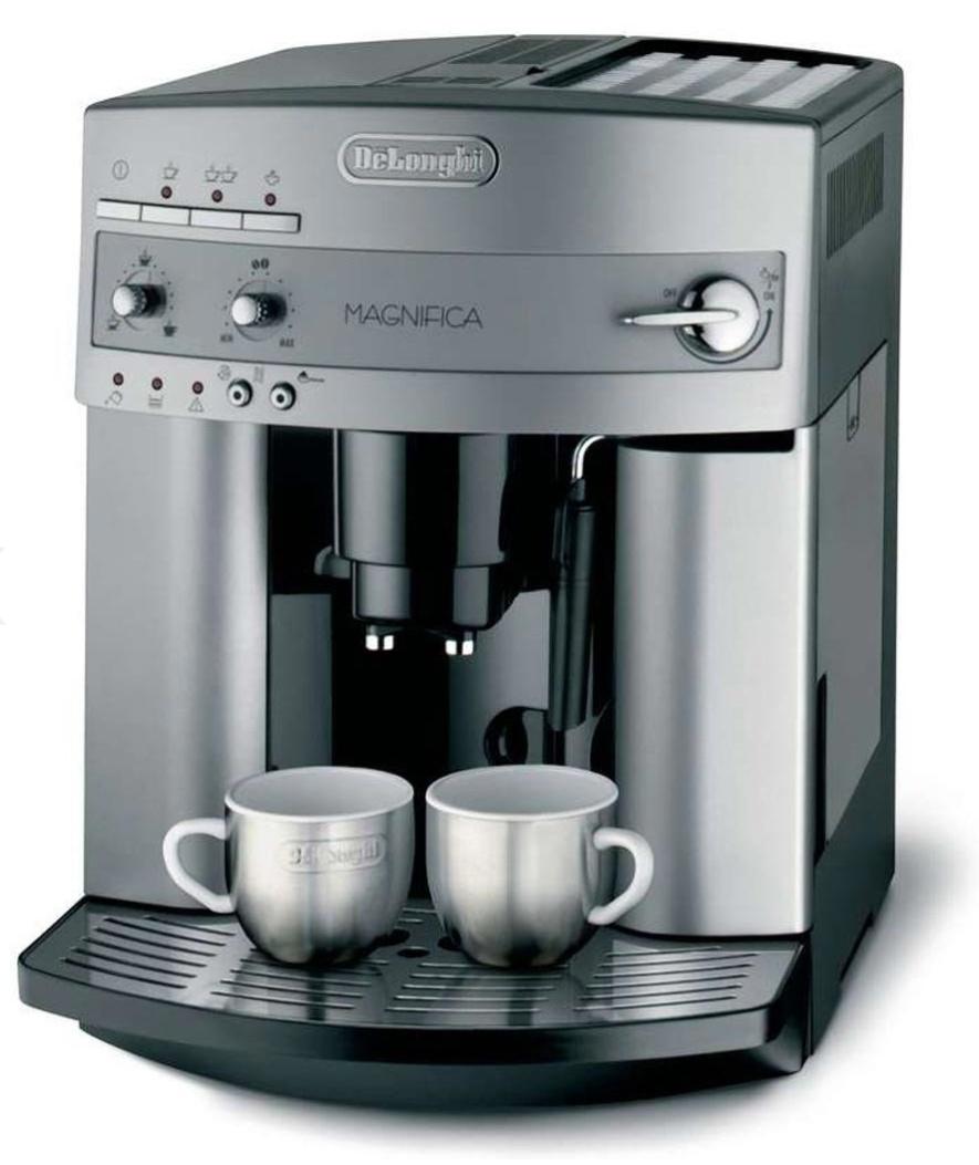 DeLonghi Kaffeevollautomat Magnifica, silber, ESAM 3200.S, 15 bar, 1,8 Liter