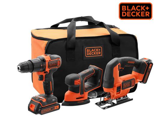 Black + Decker Power Tools Kombi Set, 18 Volt