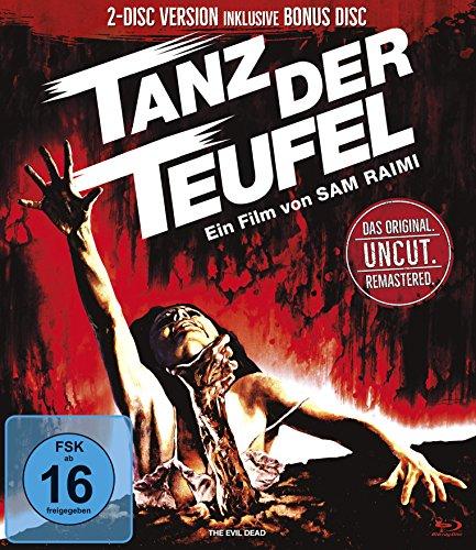 Tanz der Teufel (Remastered Version Uncut inkl. Bonus Disc 2 Discs) (Blu-ray) für 7,78€ (Amazon Prime Blitzangebot)