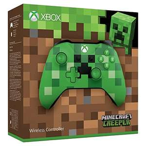 Xbox One S Wireless Controller (Minecraft Green Limited Edition) für 34,48€ (Amazon)