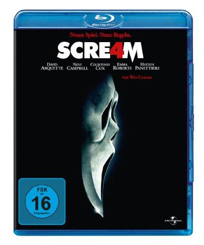 Scream 4 (Blu-ray) für 6,99€ versandkostenfrei (Amazon Prime & Media Markt)
