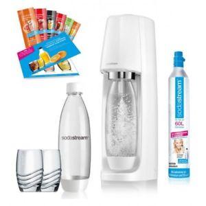ebay WoW: SODASTREAM EASY PROMOPACK - Sprudler + Zylinder + Flasche + Gläser