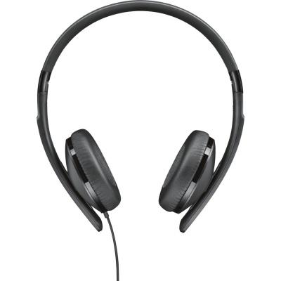 [NBB] Sennheiser HD 2.20s Schwarz On-Ear-Kopfhörer mit geschlossener Bauweise und Inline-Fernbedienung schwarz