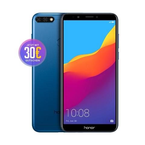 Honor 7C Dual-Sim 15,21 cm 5,99 Zoll 32GB Blau mit Gesichtserkennung für 149€ im Honor Store oder als Amazon Prime Day Angebot