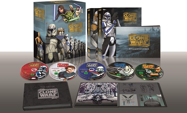 [Prime Day] Star Wars: The Clone Wars - Komplettbox Staffel 1-5 (exklusiv bei Amazon.de) [Blu-ray]