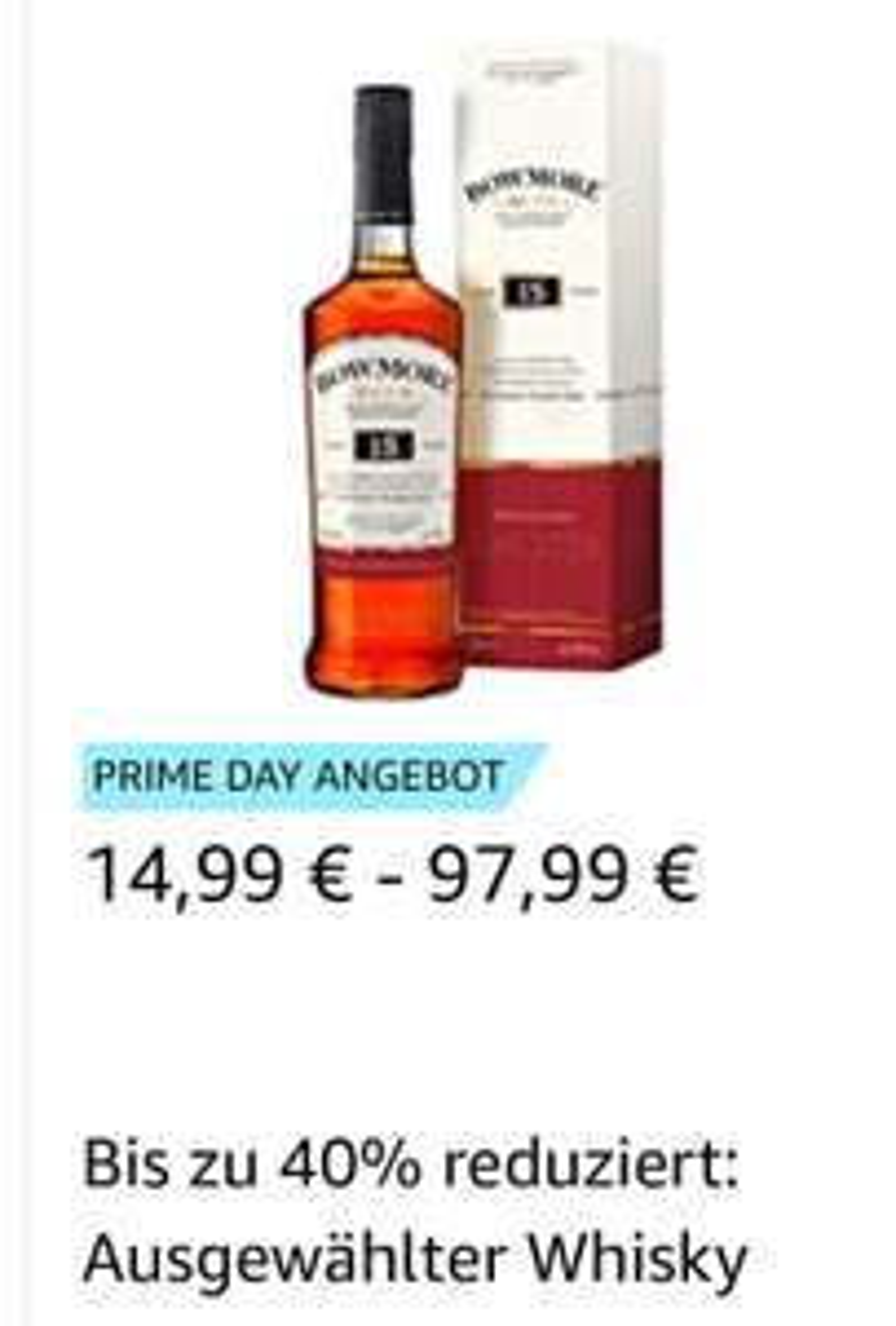 [amazon prime day] Sammeldeal: Ausgewählter Whisky/Whiskey bis zu 40% reduziert, z. B. Knob Creek Boubon für 21,99€ und Nikka from the Barrel für 27,49€