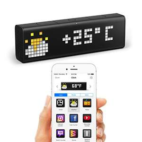 [Prime-Day] LaMetric Time WLAN-Uhr für Smart Home gut reduziert