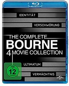 The Complete Bourne Collection [Blu-ray] (Amazon Prime)