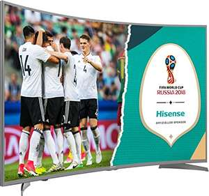 Hisense H49NEC6500 123 cm (49 Zoll) Curved Fernseher (Ultra HD, HDR10, Triple Tuner, Smart TV) [PrimeDay]