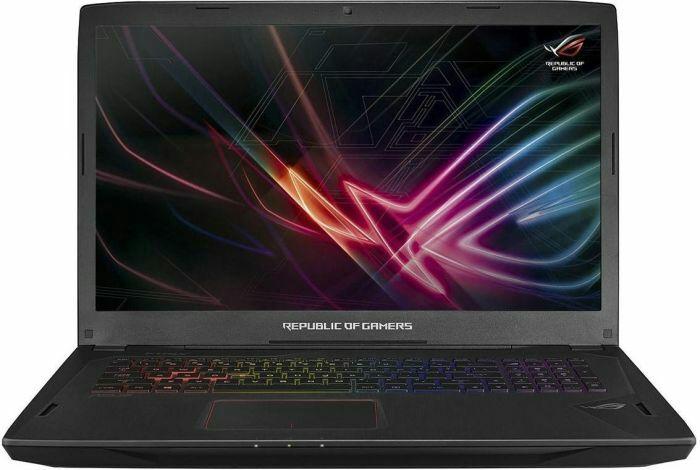 "ASUS ROG GL702VI Notebook 17.3"" - FHD, 120Hz, G-Sync, i7-7700HQ, 16GB RAM, 256GB SSD PCIe, 1TB HDD, GTX 1080 (Prime-Day)"