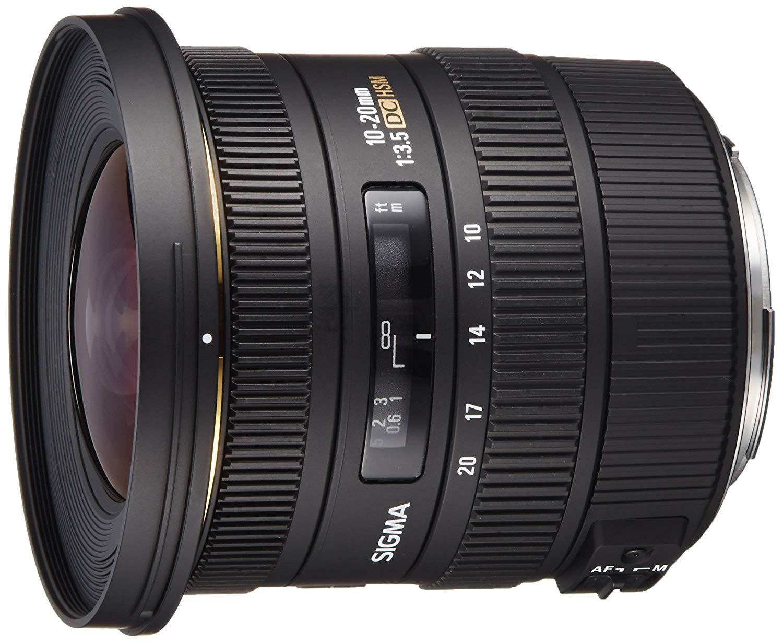 [Amazon Prime Day] Sigma 10-20 mm F3,5 EX DC HSM-Objektiv 82mm Filter Nikon+Canon