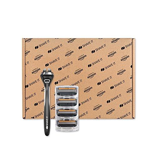 Prime Day Shave It Pro - 5 Klingen-Rasierer mit 4 Ersatzklingen Amazon Exklusiv