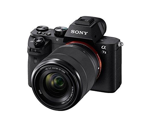 [Prime Day] Sony Alpha 7M2 E-Mount Vollformat ILCE-7M2 (24,3 Megapixel,Vollformat Exmor CMOS Sensor, inkl. SEL-2870 Objektiv)