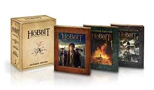 Der Hobbit Trilogie – Extended Edition als exklusive Sammleredition (Blu-ray Digipacks) (exklusiv bei Amazon) für 39,97€ (Amzon Prime Day)