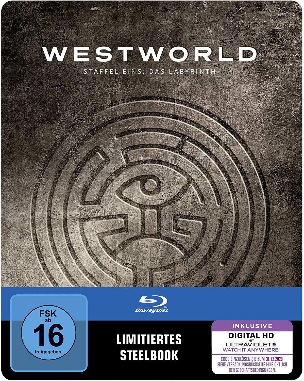 [Prime Day] Westworld Staffel 1: Das Labyrinth als Steelbook (Limited Edition) [Blu-ray]