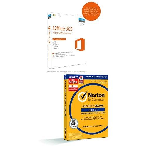 [AMAZON] Norton + Office 365 Home im Bundle