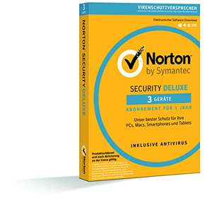 [AMAZON] Norton Security Deluxe 3 Geräte