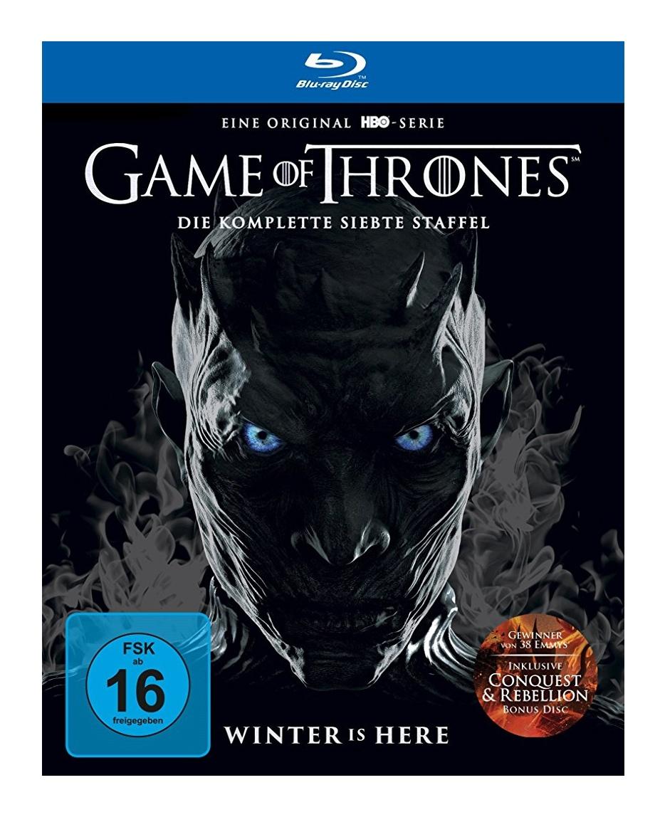 [Primeday] Game of Thrones Staffeln reduziert, z.B. die 7. Staffel Blu-ray für 24,97€ statt 29,40€, oder die Ultimate Collector's Edition für 199,97€ statt 299,81€, Komplette Auflistung der Staffeln in der Beschreibung
