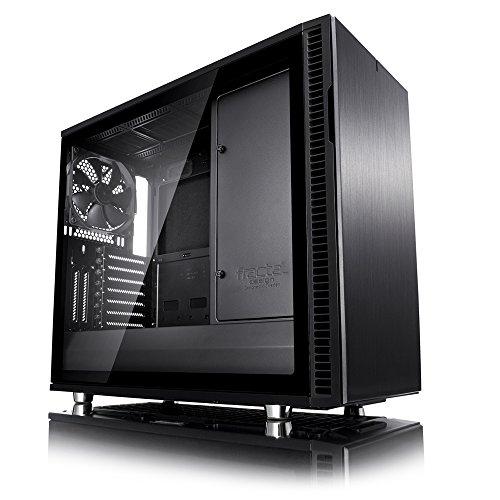 [Amazon] Fractal Design Define R6 Blackout TG, Seitenfenster, schallgedämmt, ATX Gehäuse für 109 Euro